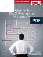A Guide for DoD Program Managers