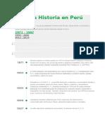 Nuestra Historia en Perú