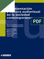 Representación y cultura audiovisual en la sociedad contemporanea