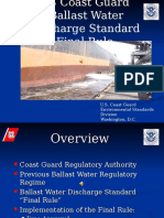 USCG Ballast Water Final Rule Narrated 29March2013