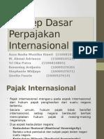 Konsep Dasar Perpajakan Internasional (Selesai)