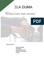 Mihaela Duma Cv Musical