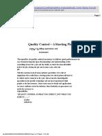 File f Acid Quality Control Checklists