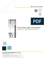 Sapcon Float and Board Type Level Literature