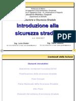 01G - Introduzione Alla Sicurezza Stradale 1617 - Part 1