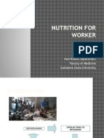 Nutritional for Worker