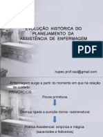 EVOLUÇÃO  HISTÓRICA  DO PLANEJAMENTO  DA1