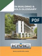 Green Buildings Controls Glossary SB046F
