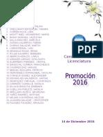 Programa de Licenciatura2016