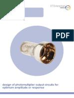 Design of PMT Output Ciruits