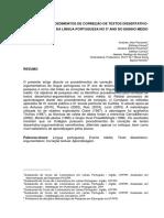 UTFPR-LETRAS Artigo - Procedimentos Correção de Textos