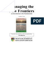 Managing the New Frontiers 2