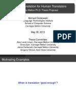 Denkowski Proposal2013 Slides 2