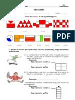Guía Matemáticas Fracciones Cuarto Básico