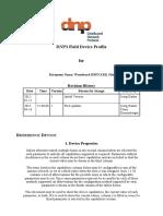 MCA4 DNP3 Field Device Profile