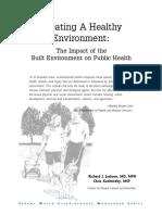 Jackson Et Al Health and Built Environment