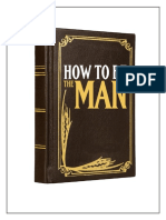 How+to+Be+The+Man
