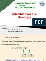 Clase 002 Introduccion a La Ecologia 2016