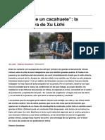 Xu Lizhi- Obituario de Un Cacahuete La Poesia Obrera de Xu Lizhi