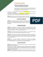 ReglamentoenseanzaypromocinFACSO