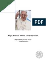 pope francis brand identity book