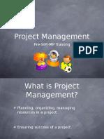 MP - Project Management
