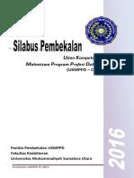 Silabus Pembekalan CBT FK UMSU 2016