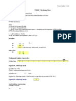 FM-200 and CO2 Calculation Sheet