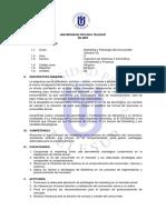 Silabo Marketing y Psicología Del Consumidor (Electivo III).