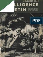 Intelligence Bulletin ~ Nov 1944