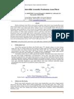 Laporan Praktikum Kimia Organik Sintesis Asam Pikrat