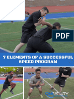 7 Elements of a Successful Speed Program