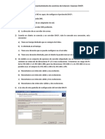 Examen DHCP