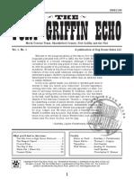 Fort Griffin Echo - Volume 1, Number 1