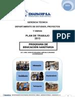 Plan Trabajo Edusan 2013