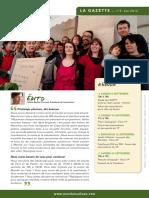 Gazette n°3 ete2012