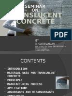 Transulent Concrete Seminar