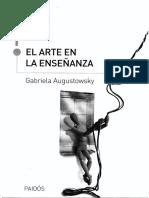 Augustowsky, Gabriela - El Arte en La Enseñanza Cap.1 Al 3