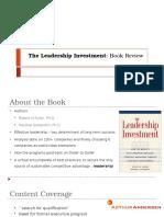 Leadership Investment PRN 68 & 124