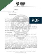 Carta Con Papel Membrete