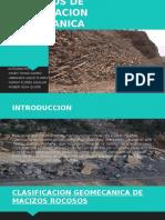 Ejercicios de Clasificacion Geomecanica