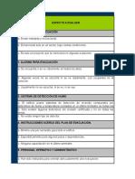 Lista de Chequeo Documento Nº 1 Identificación de Peligros
