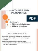 3 - Discourse and Pragmatics