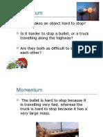 Lesson 11 Momentum