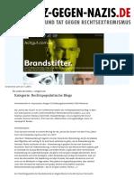 Artikel über den Blog 'Die Achse des Guten' auf www.netz-gegen-nazis.de