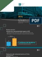 Informe endeudamiento SBIF