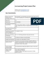 w200servicelearningprojectlessonplan