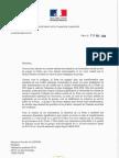 Réponse de Christophe Sirugue au syndicat Sud-PTT