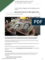 (December 12 2016) Venezuela Pulls Highest-Value Banknote 'to Strike Against Mafia' - BBC News