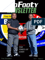 ZoFooty Newsletter Vol I Issue 2 - MPL5 Final Special